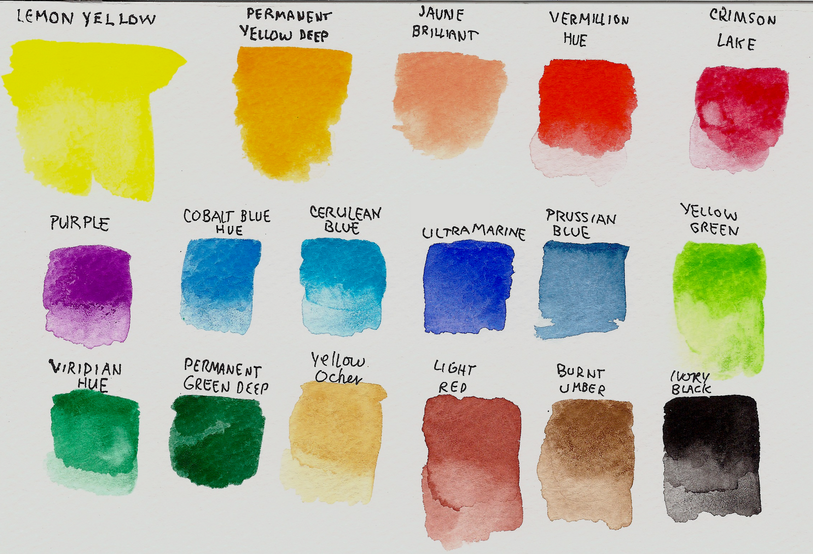 So I Made Up A Color Chart And Then Played Around With Some Techniques Ive Been Finding At Of The Tutorial Sites Posted This Week