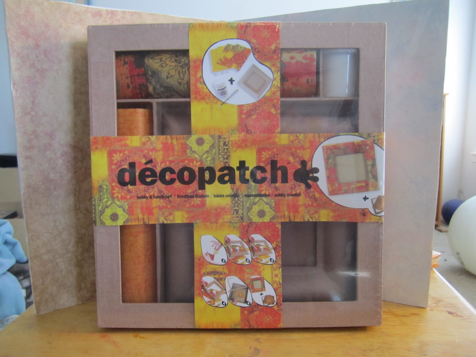 review of the decopatch frame kit life imitates doodles