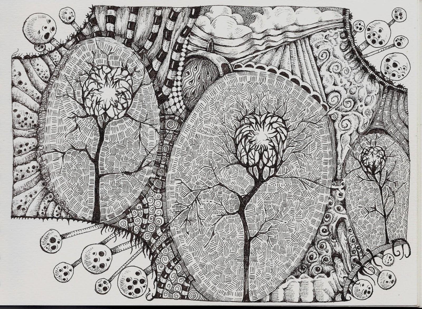 Eldritch Elderberry And Pistachio Life Imitates Doodles