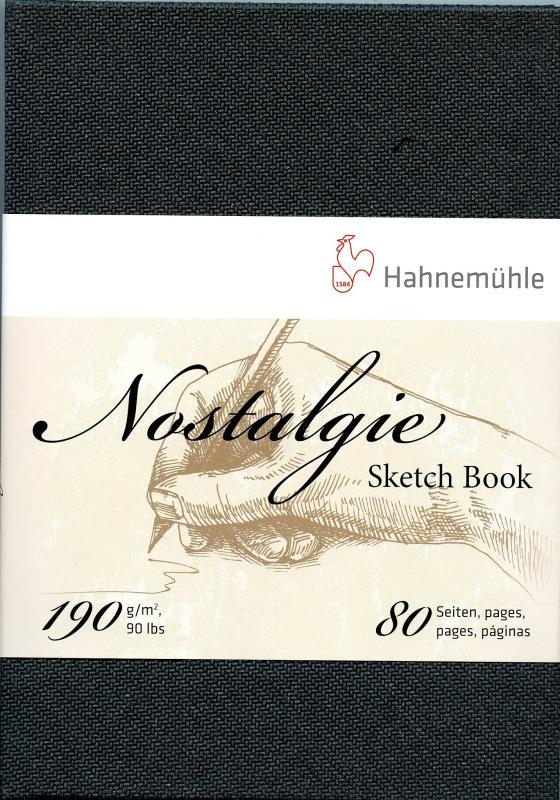 Review-Hahnemühle Nostalgie Sketchbook