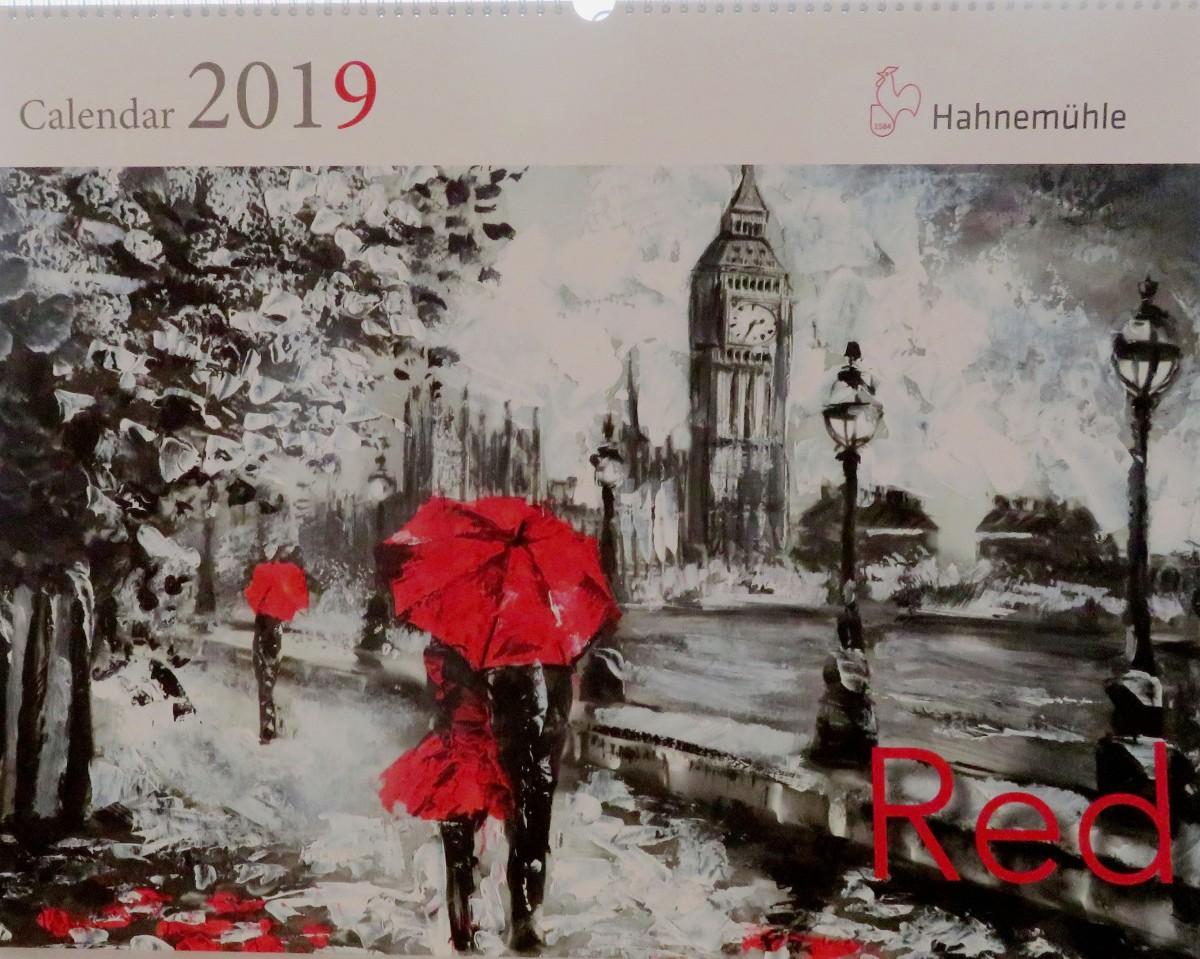 Hahnemühle Calendar 2019