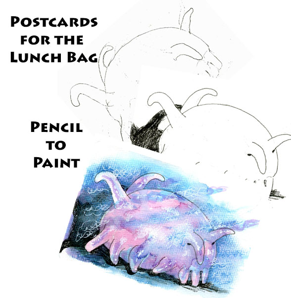 The Sea Pig – Postcards for the LunchBag