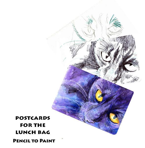 Black Cat: Pencil to Paintmini-tutorial