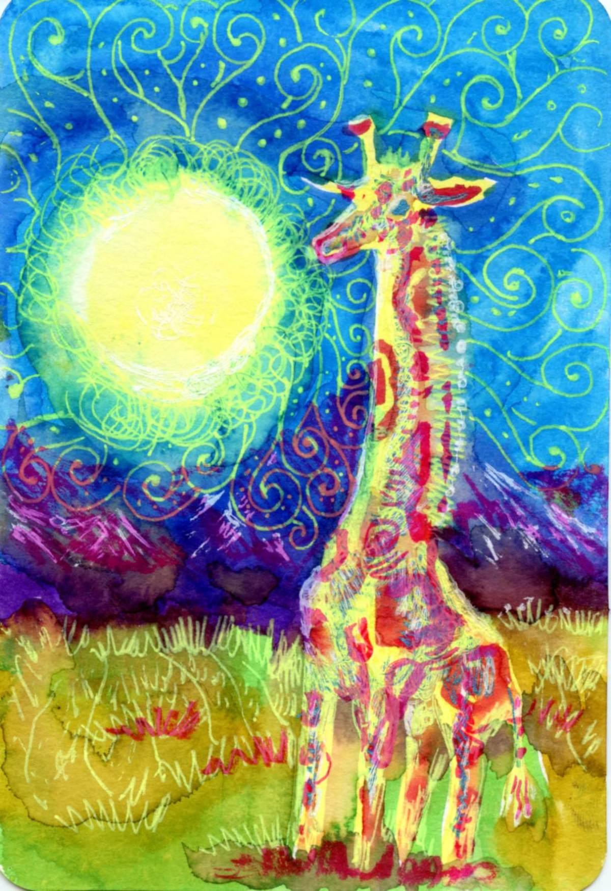 Hot Summer Night withGiraffe