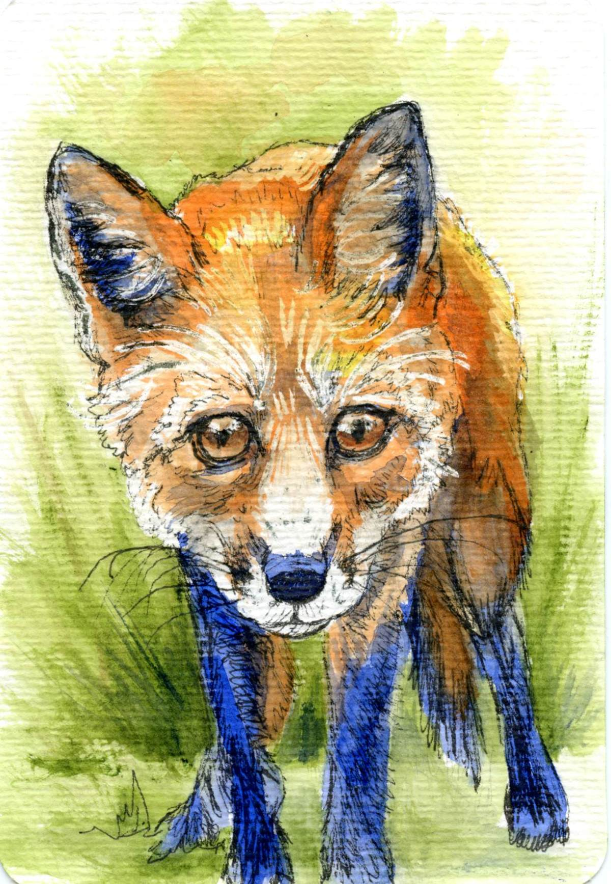 Domesticating the Fox – Postcards for the LunchBag