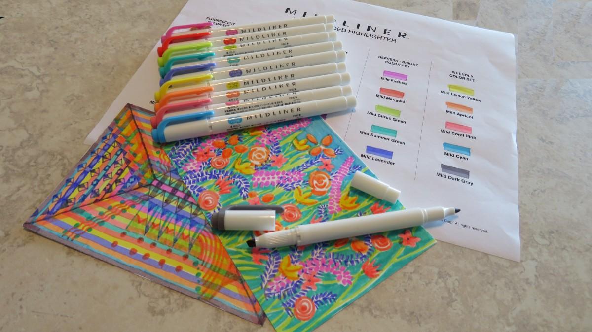 Ten New Colors – Zebra Pen MildlinerHighlighters