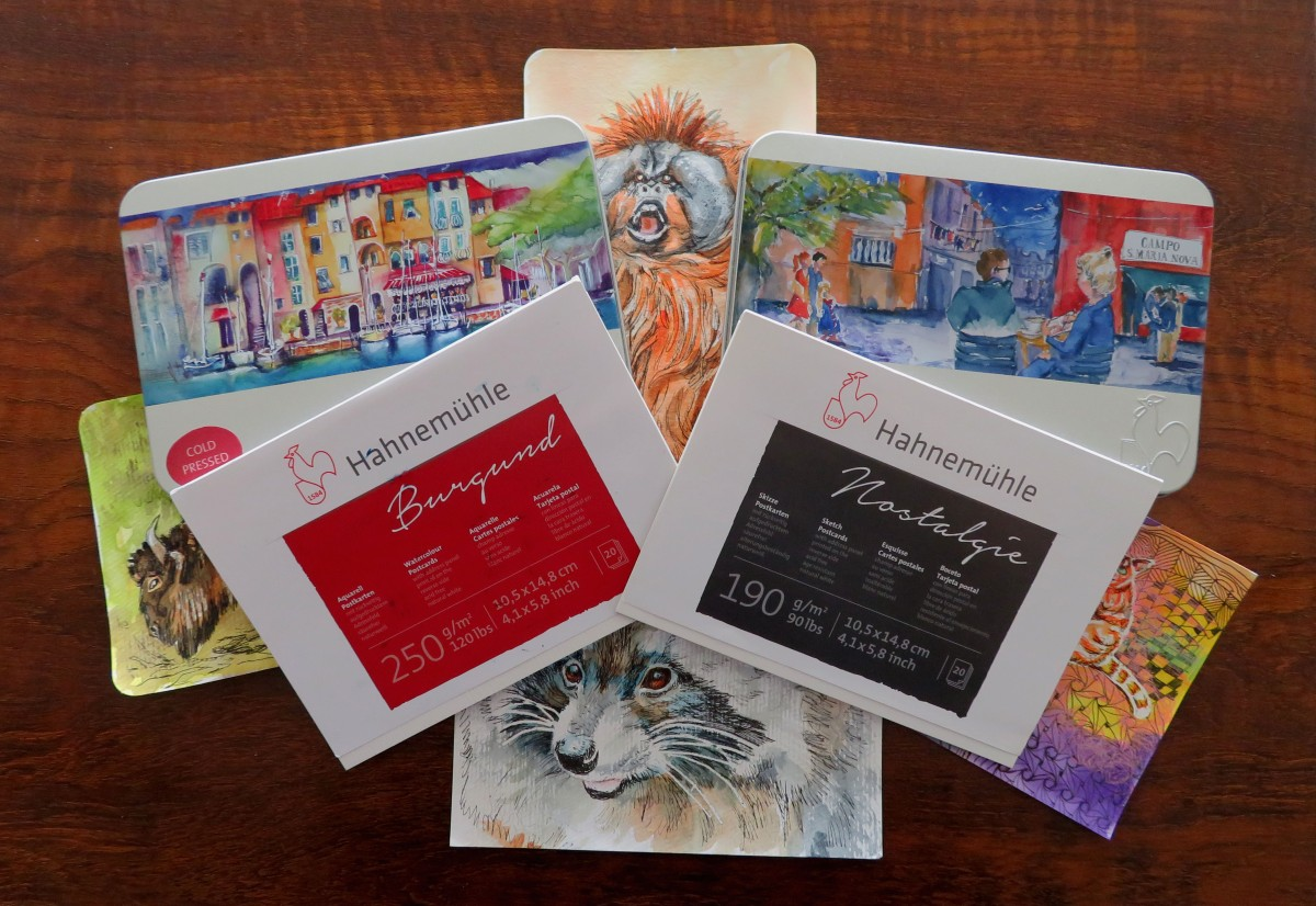 REVIEW – HahnemühlePostcards