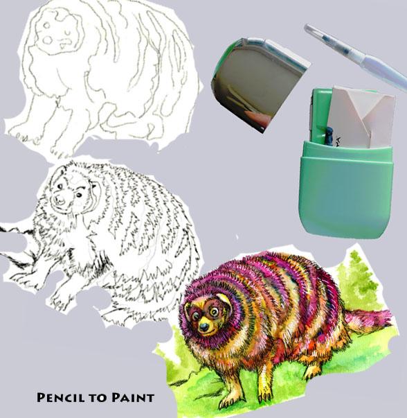 Tutorial – How to Paint an AlebrijeMongoose