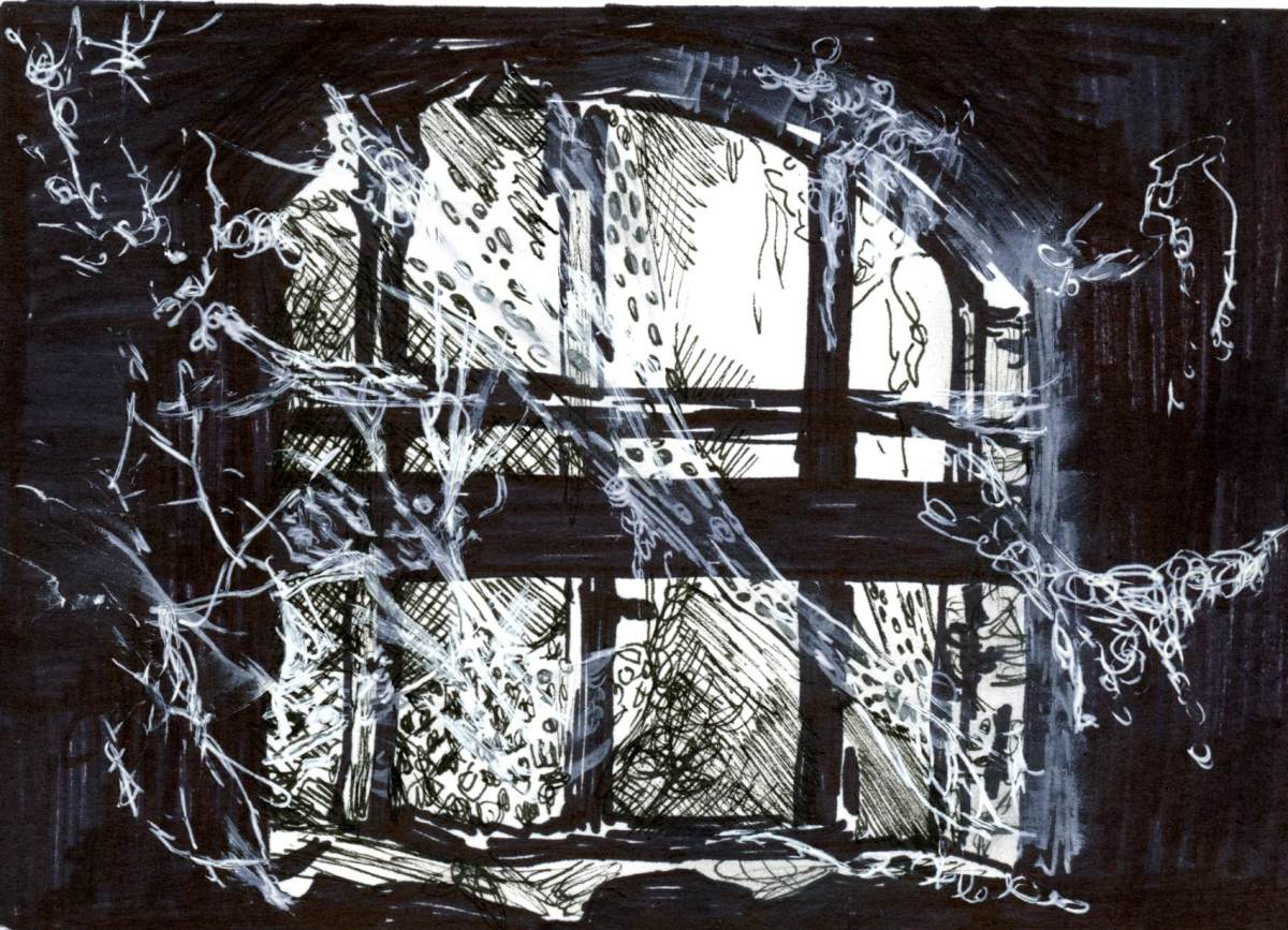 Ancient Cobwebs for Inktober