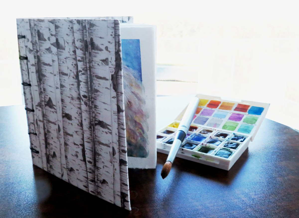 REVIEW – Mary Roff Handmade Sketchbook