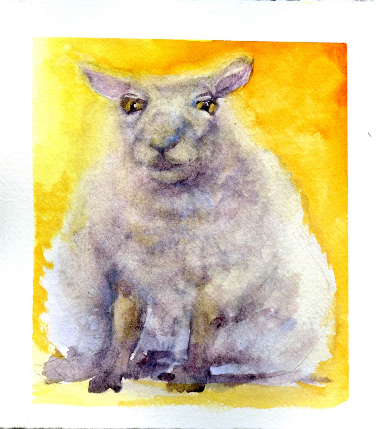 Sitting Down – Counting Sheep#6