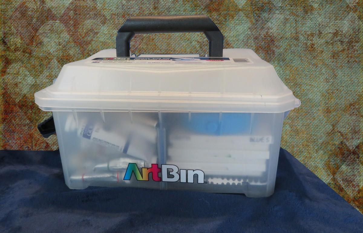 Spotlight on the ArtBin Sidekick Art & Craft Supply Storage with Paint PalletTray