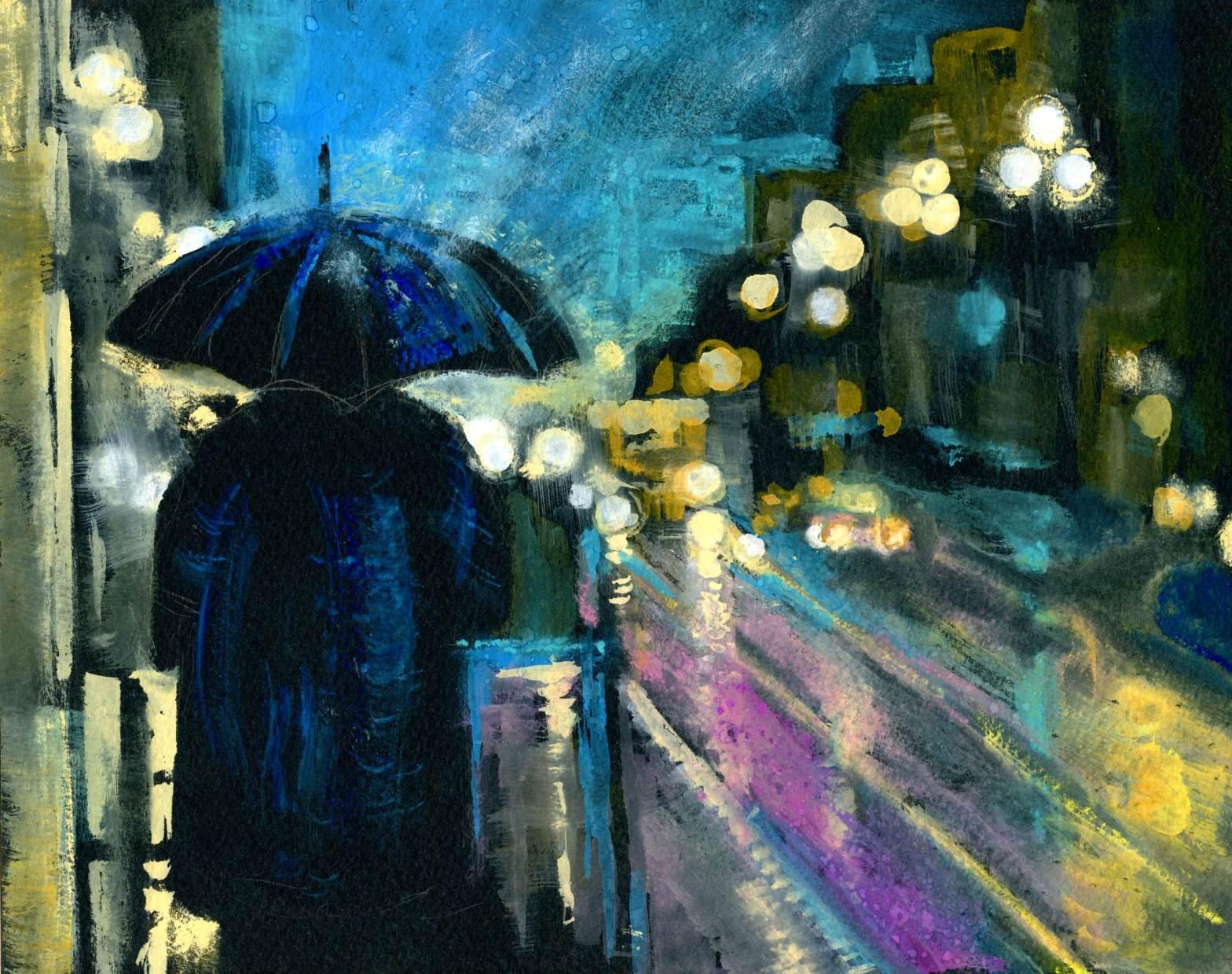 Rain And Reflections Life Imitates Doodles