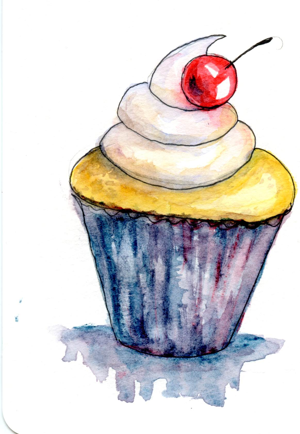 Cupcake – Postcards for the Lunch Bag