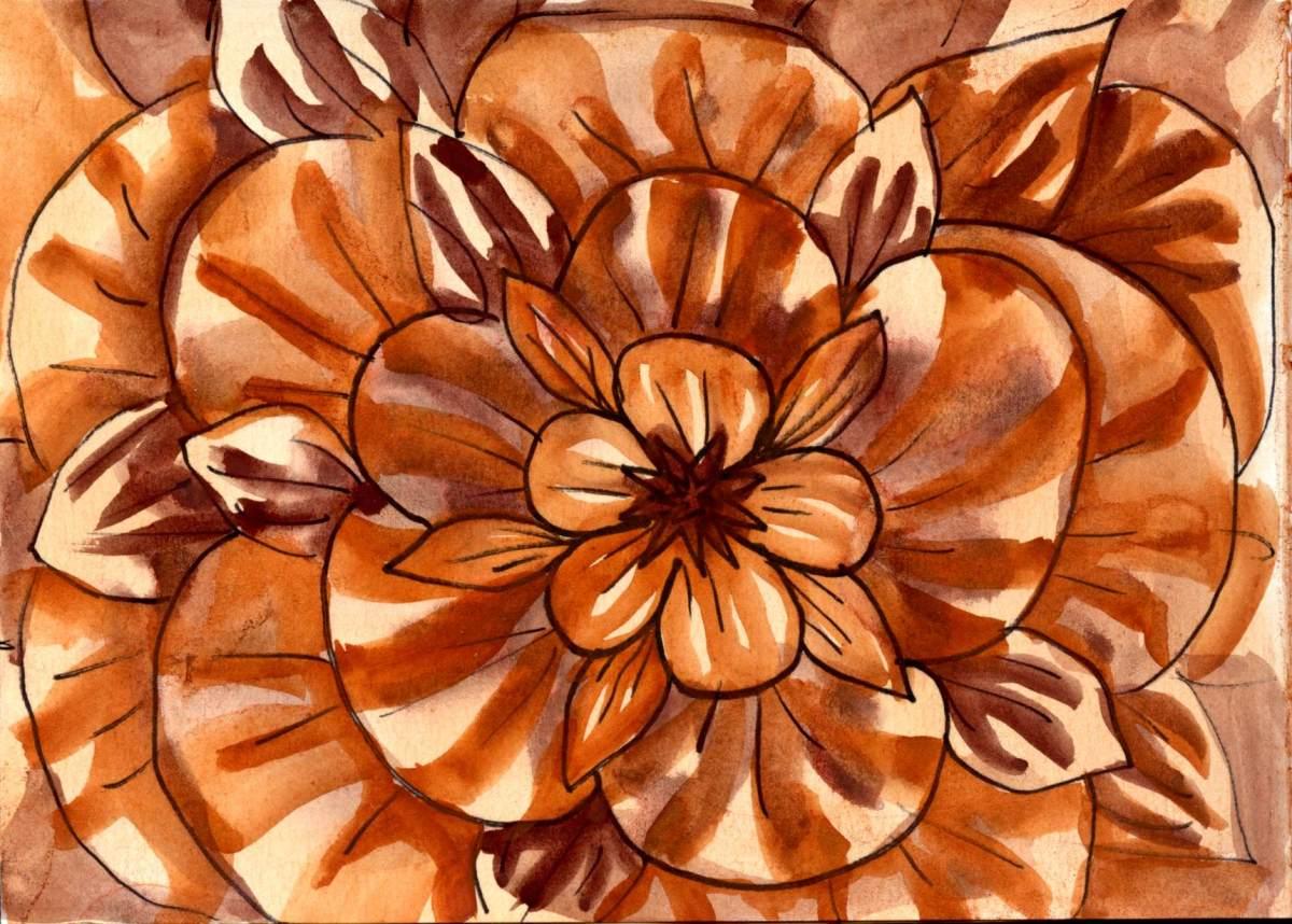 Flower in Mars &Piemonite