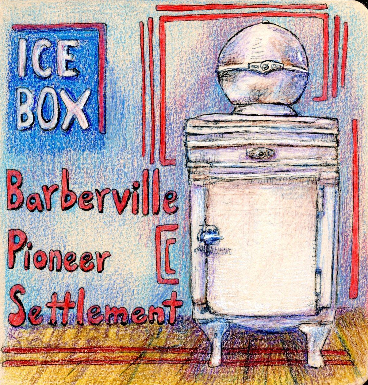 Vintage Ice Box