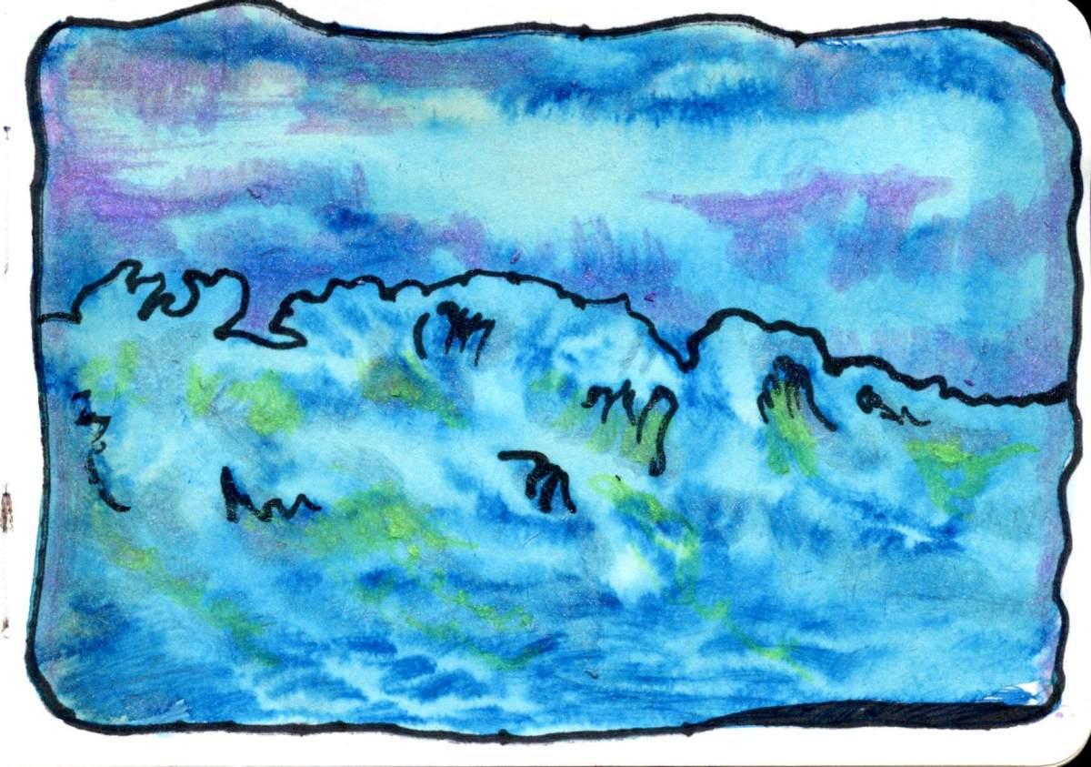 Ocean in Moonlight