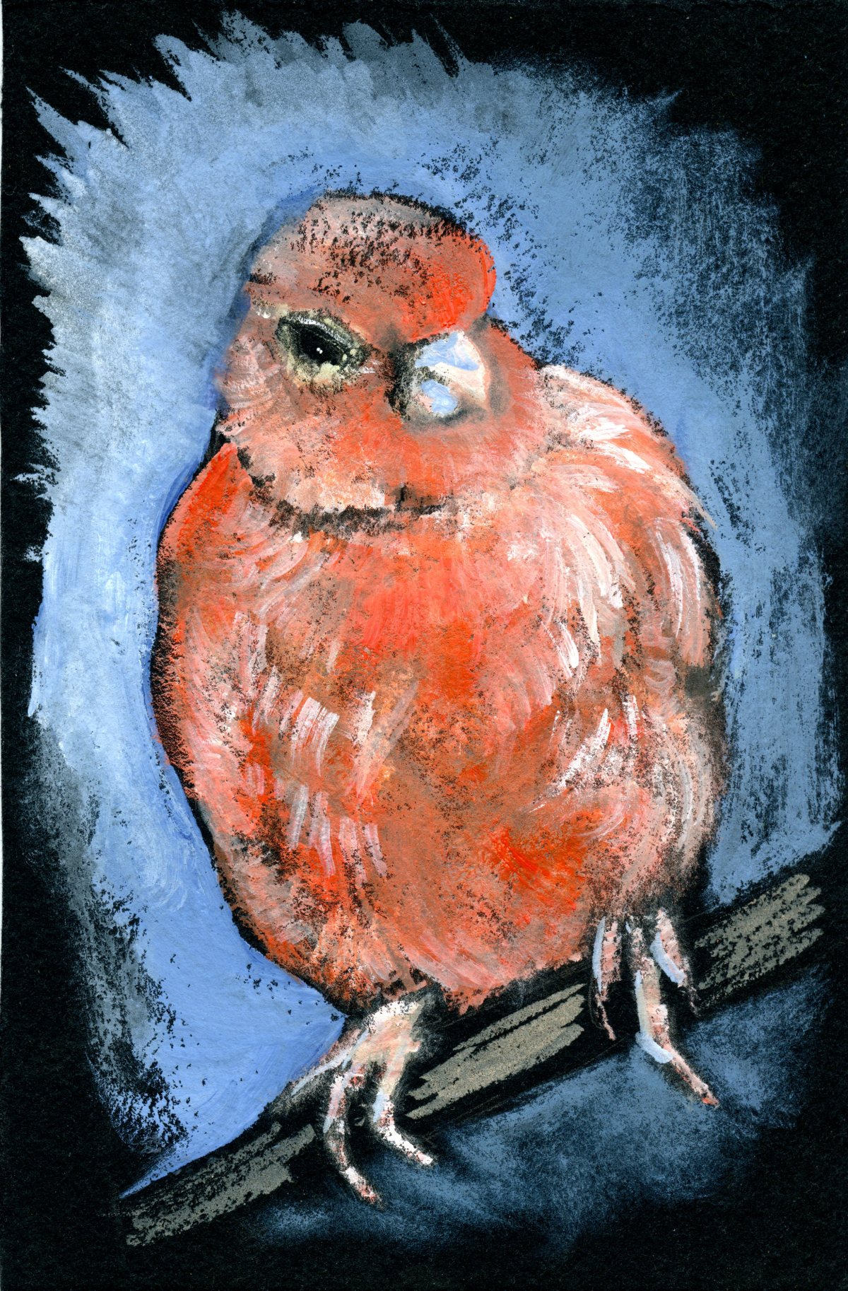 Red Factor Canary – Postcards for the LunchBag