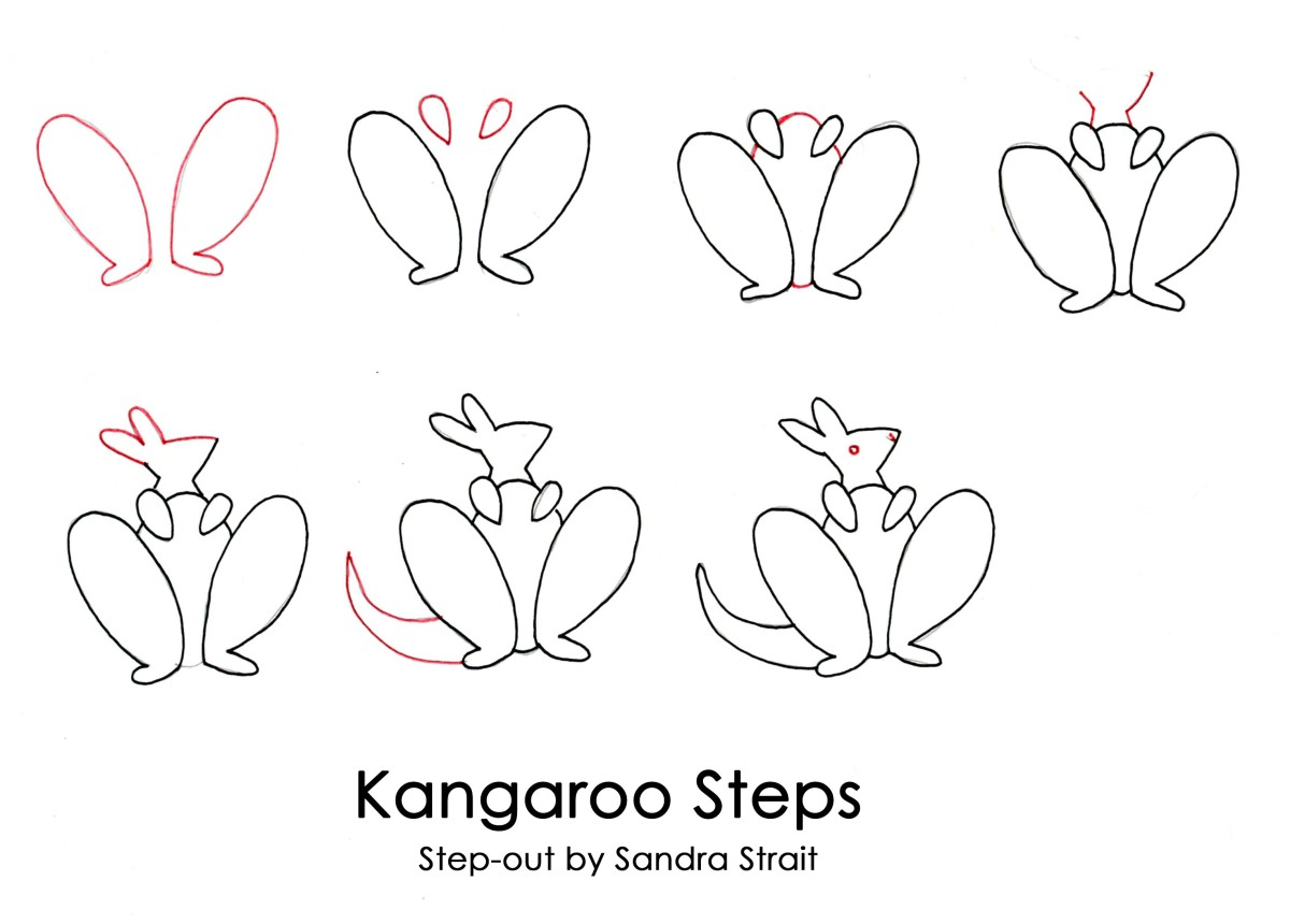 How to Draw a Fun & Easy Kangaroo!