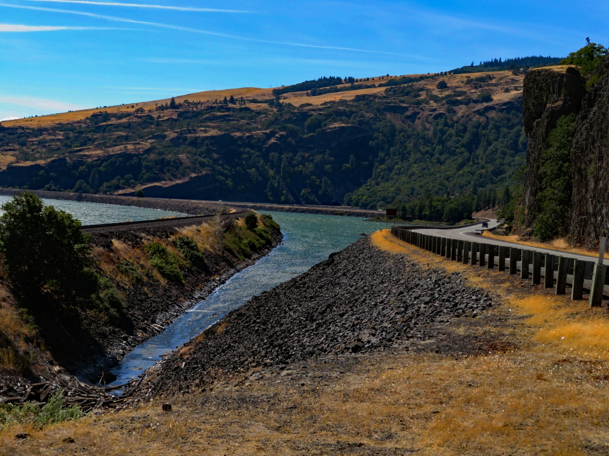 Hwy 14 – Columbia Gorge, Washington